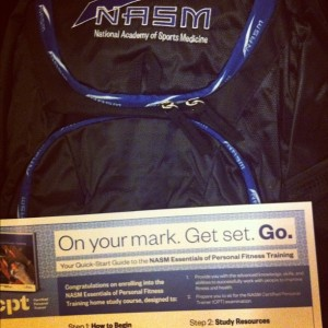 Study Book From NASM