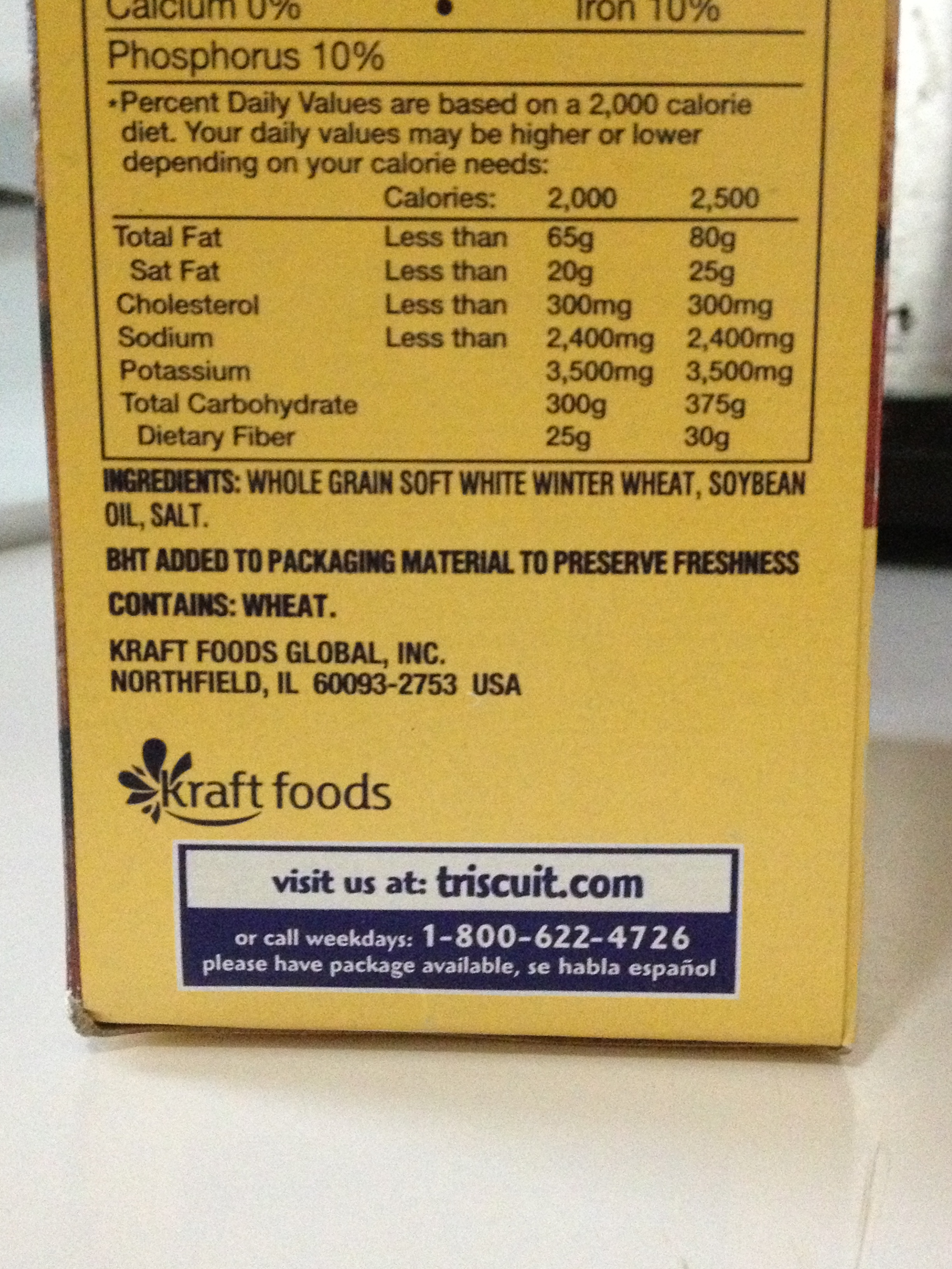how to find complex carbs on food label