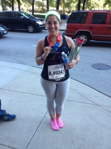 After finishing my second Chicago marathon