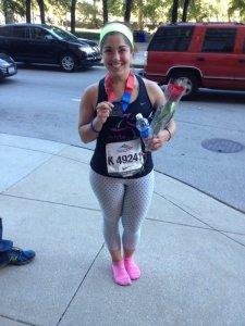 After finishing my second Chicago marathon